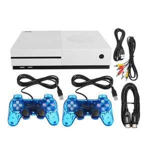 New 64 bit X Game Console HDMI Output Dual Core Video Game Palyer Built-In 600 Classic Games Consoles for GBA/SMD/NES/FC Format