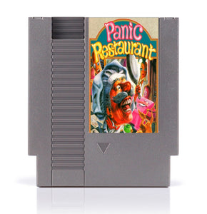 Panic restaurant 8 Bit Game Card for 72 Pins Game Console