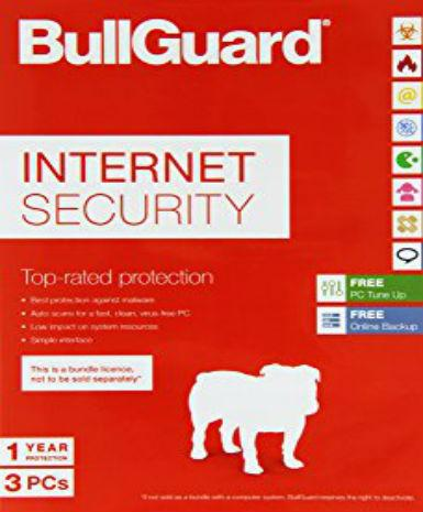 BullGuard Internet Security 2017 3 PC 1 Year