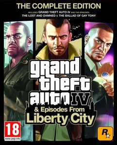 Grand Theft Auto IV GTA (Complete Edition)