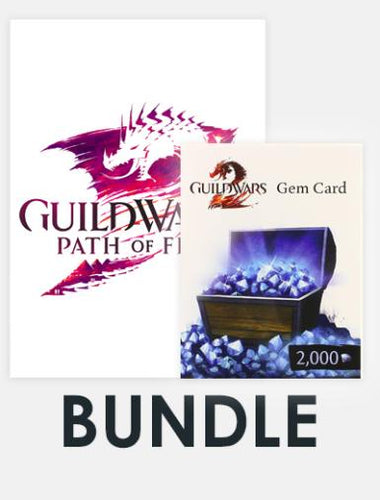 Guild Wars 2 Bundle (incl. Guild Wars 2: Path of Fire and Guild Wars 2 2000 Gems Card)