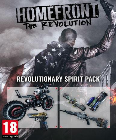 Homefront: The Revolution - Revolutionary Spirit Pack (DLC)
