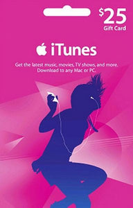 iTunes $25 Gift Card
