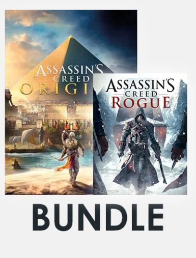 Assassin's Creed Bundle (Incl. Assassin's Creed Origins + Assassin's Creed Rogue)