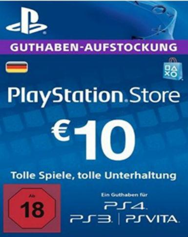Playstation Network Card (PSN) 10 EUR (German)