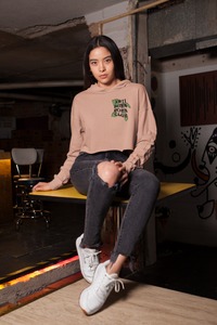 Woman wearing Anti Boba Boba Club Hoodie