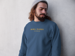 Somber man wearing a Boba Daddy Sweater