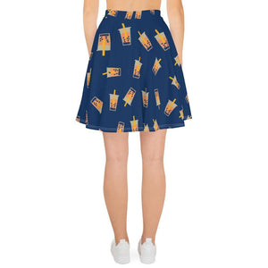 Back view of the Boba Skater Skirt
