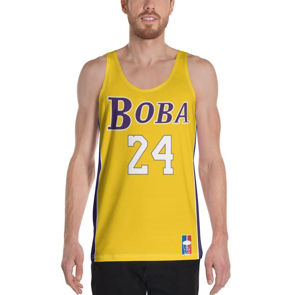 Los Angeles Boba Basketball Jersey - CollegeBoba
