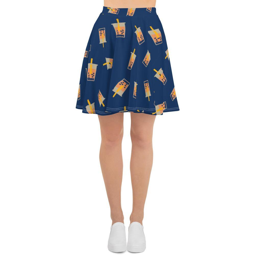 Front view of the Boba Skater Skirt