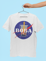 Mockup of a Nasa Boba shirt