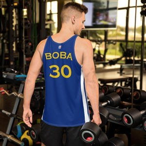 Back of Golden State Warriors Boba Jersey