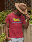 Man in a hat wearing a Bobamonn Shirt - Pokemon Parody