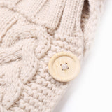 Knit Crochet Swaddle Sleeping Bag