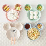 Disney Bamboo Tableware Set