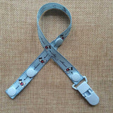 Various Cartoon Style Pacifier Clips