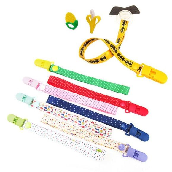 Various Style Pacifier Clips
