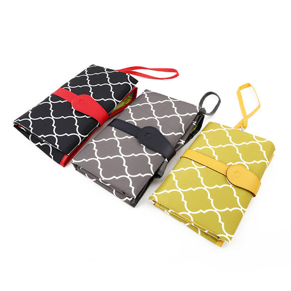 Waterproof Portable Changing Pad Clutch