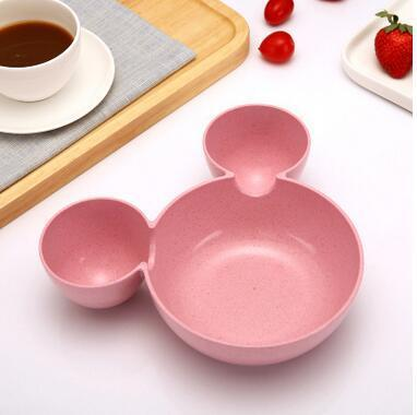 Disney 3 Pc Bamboo Tableware Set
