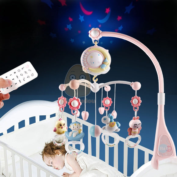 Baby Bed Musical Box