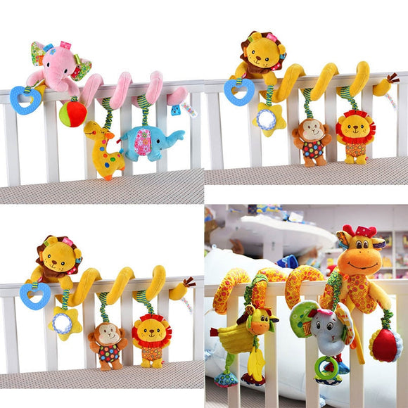 Crib Spiral rattle Toy