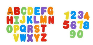 Bath Letters and Numbers, 36 Count