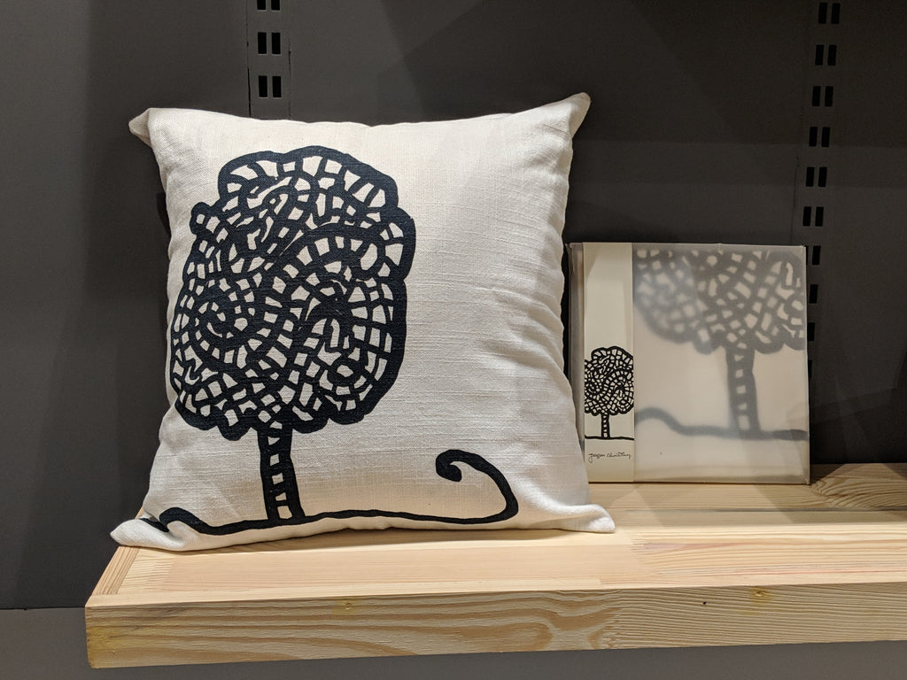 Jogen Chowdhury Tree Cushion Cover