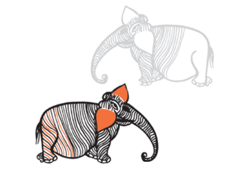 8 WAYS TO DRAW AN ELEPHANT - Paola Ferrarotti with various artists
