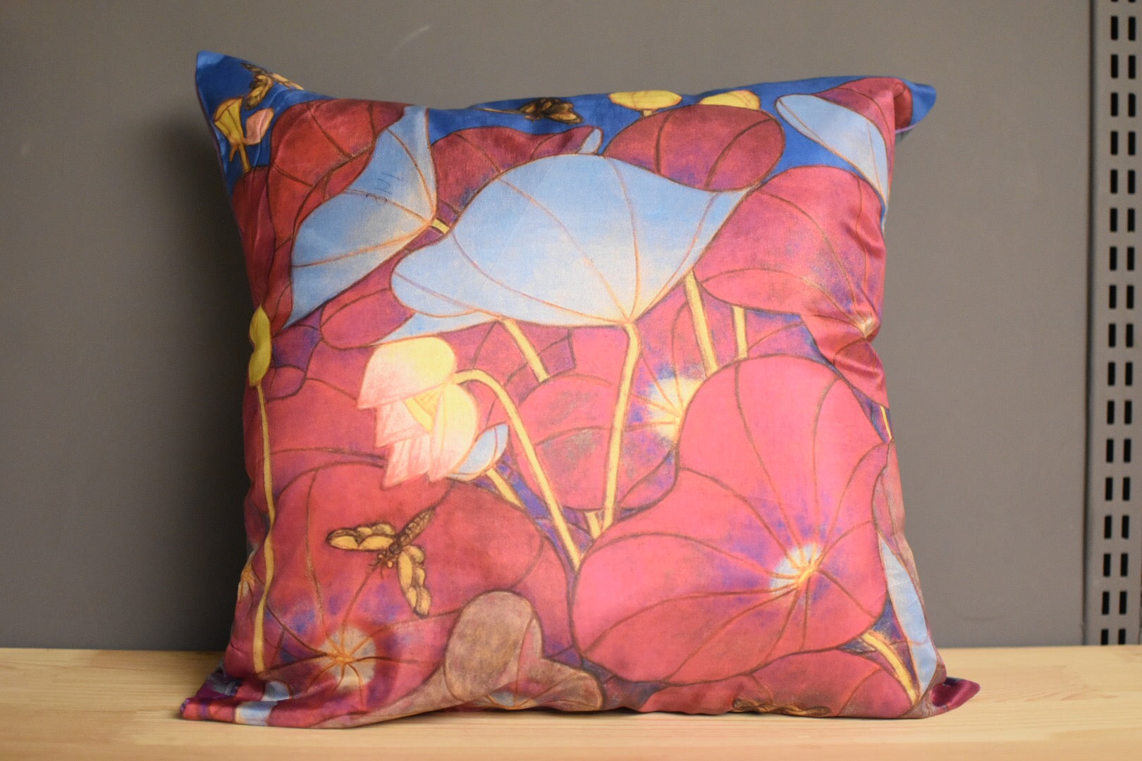 A Ram Chandran Cushion Cover Pink