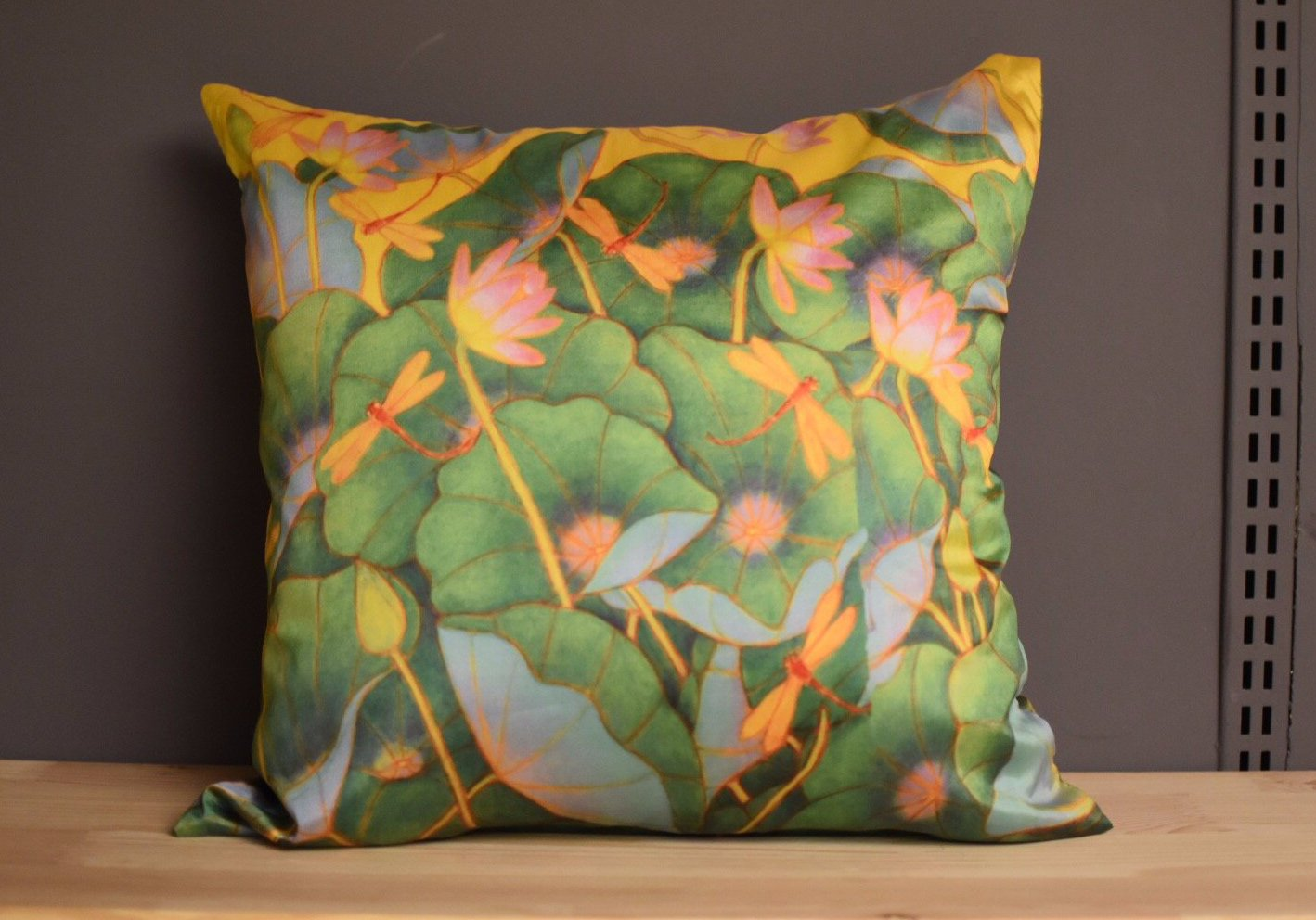 A Ram Chandran Cushion Cover Green
