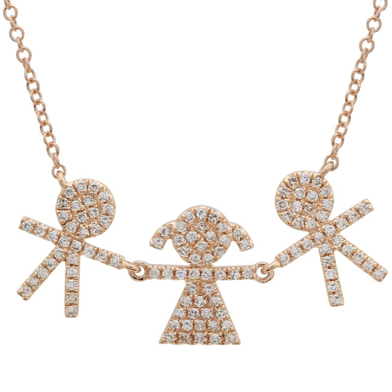 Kids Diamond Necklace