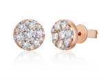 Illusion Diamond Studs