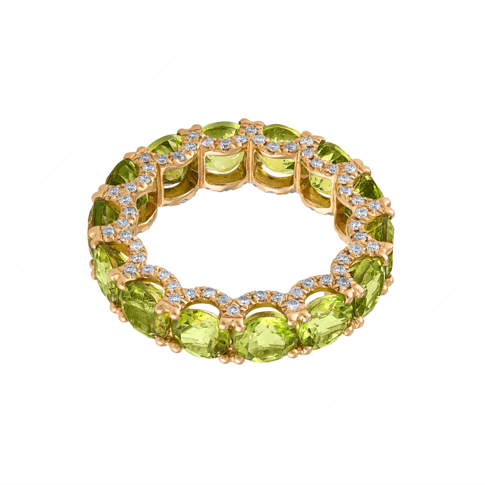 Holy Peridot Ring