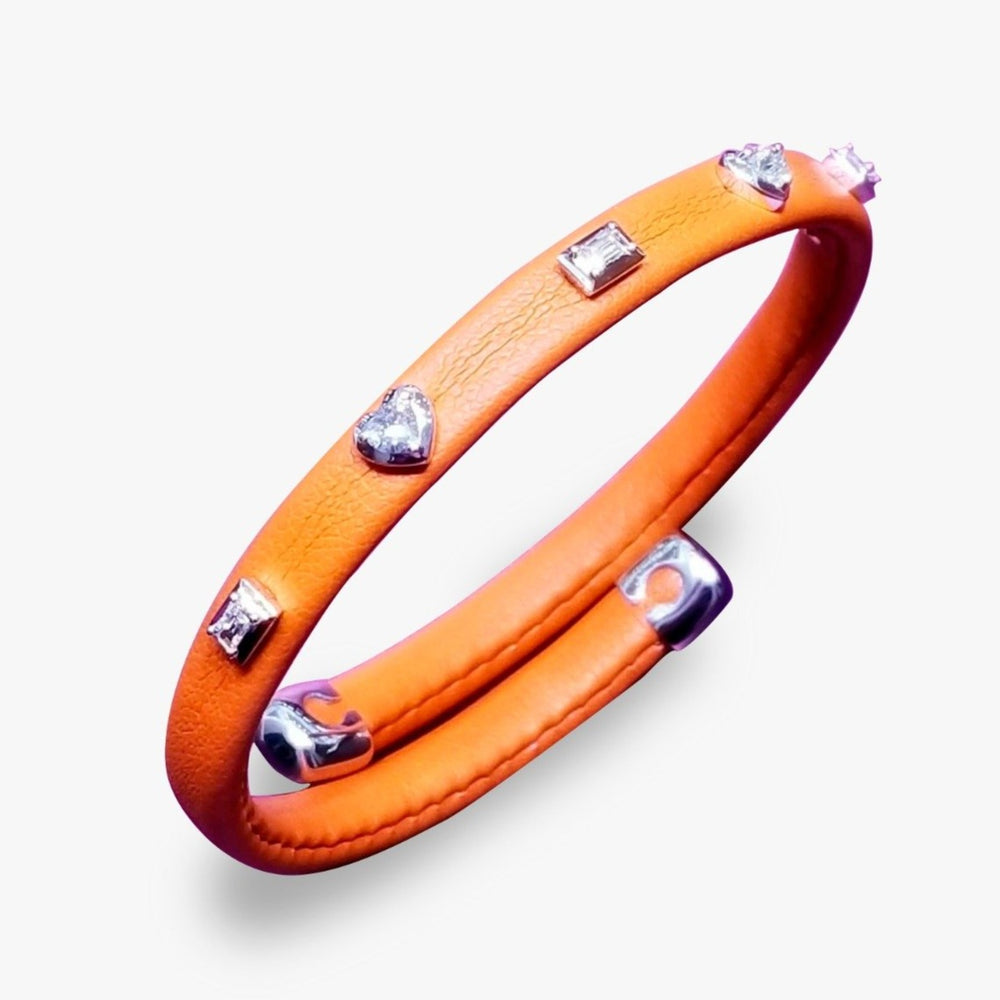 Leather Adjustable Bangle