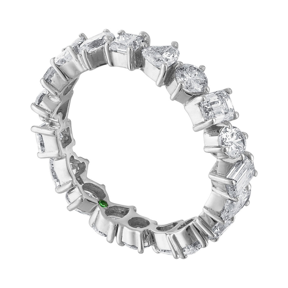Multishape Diamond Ring