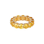 Holy Yellow Sapphire Ring