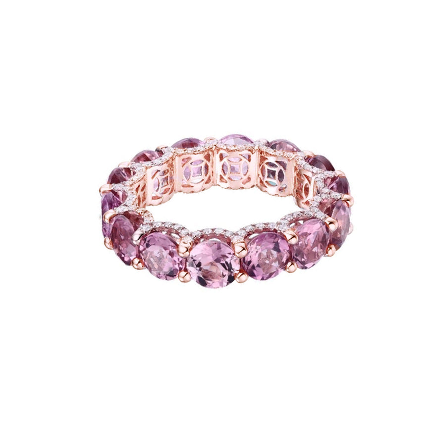 Holy Pink Tourmaline Ring