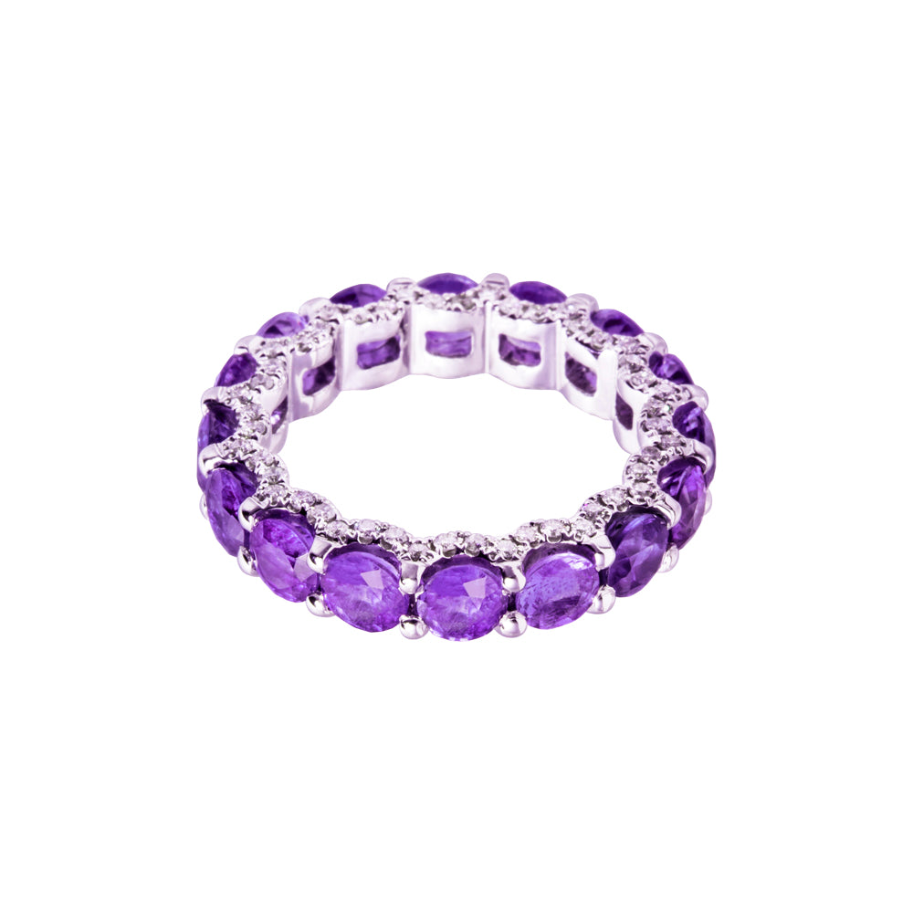 Holy Amethyst Ring