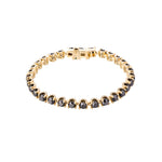 4MM Black Diamond Holy Bracelet