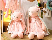 Long Ears Cute Rabbit Doll Baby Soft Plush Toys For Children Sleeping Stuffed Animal For Infants - Center Of Treasures