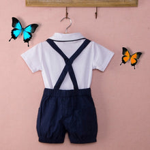 Baby Boy Clothing Set Gentleman Suit Stylish Summer Style Boys Newborn Clothes Baby Rompers Jumpsuit Body  Infant Clothing 2019 - Center Of Treasures