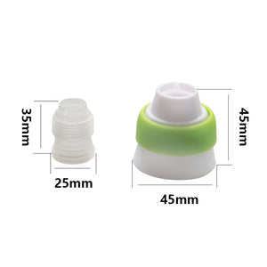CAKE DECORATING ICING TIPS NOZZLES (13 PCS) - Center Of Treasures