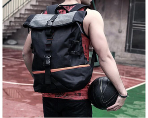 Black Men Women Backpack Large Capacity Gear Hiking Patches Laptop  Design Meals Girl Thailand School Travel College Male Female Sports Basketball Bag Breathable Rucksack - Center Of Treasures