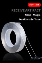 Heavy Duty Double-Sided Adhesive Tape Roll Nano Tape Trace less Washable Stretchable Removable Multi functional Tapes Reusable Duct Sticker - Center Of Treasures