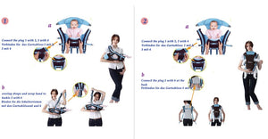 Baby Carrier Multi-functional 0-30 Months Breathable Front Facing  4 in 1 Infant Comfortable Sling Backpack Pouch Hipseat - Center Of Treasures