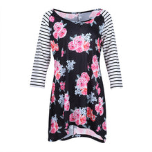 Mother Daughter Dress Summer 2018 Long Sleeve  Casual Family Clothes Womens Girls Sundress Outfits - Center Of Treasures