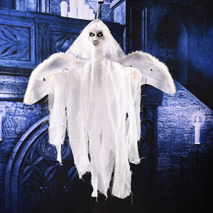 Halloween Party Decorations Horror Layout Crawling Ghosts Voice Control Toy Electric Eye Glow Crawling Ghost Haunted House Prop - Center Of Treasures