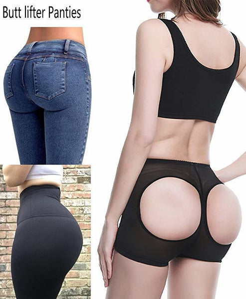 Butt Lifter Short Women's Shaper With Tummy Control Female Booty Panties Sexy Shapewear Underwear - Center Of Treasures
