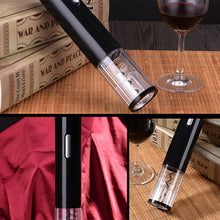 Cordless Corkscrew Wine Opener Automatic Foil Cutter Electric Wine Bottle Openers Portable 1 Set - Center Of Treasures