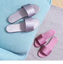 Summer Women Slides Fashion Women Slippers Sandals Soft Soles Home Bathroom Slippers Beach Flip Flops Shoes Woman Outside Flat - Center Of Treasures